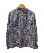 LA MARINE FRANCAISE(マリンフランセーズ)の古着「総柄シャツ」|パープル