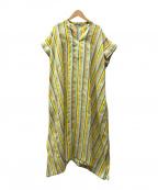 Traditional Weatherwear(トラディショナルウェザーウェア)の古着「CAFTAN SHORT SLEEVE ONE-PIECE/」|マルチカラー