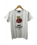 ()の古着「ポロベアプリントTシャツ」 ホワイト