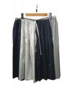 ()の古着「切替スカート」|ネイビー
