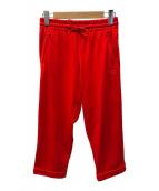 ()の古着「W CLASSIC WIDE LEG TRACK PANTS」 レッド