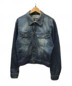 D&G(ドルチェ&ガッバーナ)の古着「デニムジャケット」|ブルー