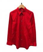 JUNYA WATANABE CdG(ジュンヤワタナベコムデギャルソン)の古着「ブロードシャツ」|レッド
