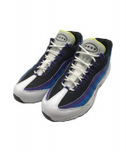 ()の古着「AIR MAX 95 AIRMOJI/ローカットスニーカー」|ホワイト×ブルー