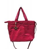 ()の古着「2WAYバッグ」|ショッキングピンク