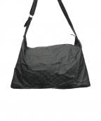 GUCCI()の古着「GGナイロンショルダーバッグ」|ブラック