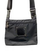 ()の古着「ロゴショルダーバッグ」|ブラック