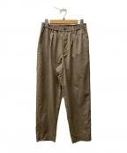 URU(ウル)の古着「EASY PANTS/イージーパンツ」|ブラウン