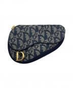 Christian Dior(クリスチャン ディオール)の古着「トロッターサドルポーチ」|ネイビー