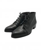 LANVIN COLLECTION(ランバンコレクション)の古着「ショートブーツ」|ブラック