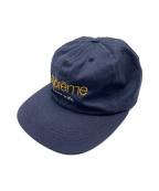 SUPREME(シュプリーム)の古着「Classic Logo Cap/キャップ」|ネイビー