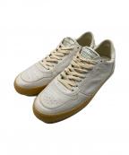 PHILIPPE MODEL(フィリップ モデル)の古着「ヴィンテージ加工スニーカー」|ホワイト