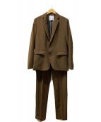 ()の古着「セットアップスーツ」 ブラウン