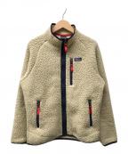 Patagonia(パタゴニア)の古着「ボーイズレトロパイルジャケット」 アイボリー
