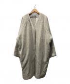 journal standard luxe(ジャーナルスタンダード ラックス)の古着「ウールボア コクーンコート」 ベージュ