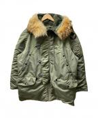 BUZZ RICKSON'S(バズリクソンズ)の古着「N3-Bジャケット」 オリーブ