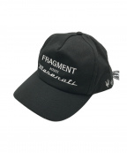FRAGMENT DESIGN× Maserati(フラグメント・デザイン×マセラティ)の古着「キャップ」|ブラック