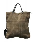 ()の古着「折り畳みトートバッグ」|ブラウン