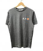 A.P.C. × CARHARTT WIP(アーペーセー×カーハートダブリューアイピー)の古着「プリントTシャツ」|グレー