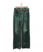 KAPITAL(キャピタル)の古着「草木染デニムパンツ」|グリーン