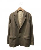 ROPE mademoiselle(ロペマドモアゼル)の古着「ウォームジャケット」|ブラウン