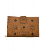 ()の古着「2つ折り財布」 ブラウン