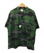 SOU・SOU(ソウソウ)の古着「アロハシャツ」|グリーン
