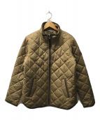 ()の古着「キルティングジャケット」|ベージュ