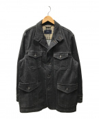 BURBERRY LONDON(バーバリー ロンドン)の古着「デニムジャケット」|ブラック