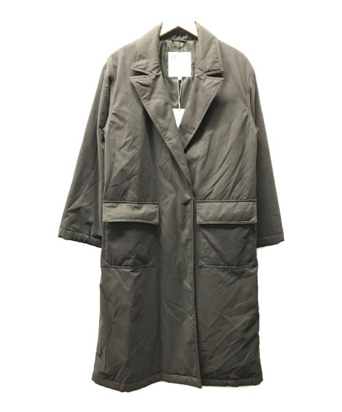 dessin UNTITLED(デッサンアンタイトル)dessin UNTITLED (デッサンアンタイトル) 中綿コート オリーブ サイズ:3 未使用品の古着・服飾アイテム