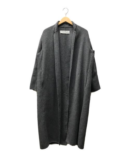 PLAIN PEOPLE(プレインピープル)PLAIN PEOPLE (プレインピープル) トッパーコート グレー サイズ:3の古着・服飾アイテム