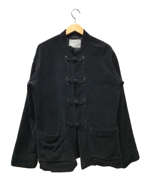TOGA VIRILIS(トーガ ビリリース)TOGA VIRILIS (トーガ ビリリース) 20AW コーデュロイチャイナジャケット ブラック サイズ:46の古着・服飾アイテム