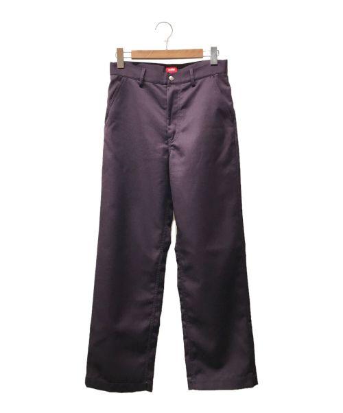 order(オーダー)order (オーダー) Loose twill pants パープル サイズ:下記参照の古着・服飾アイテム