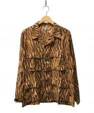 GAIJIN MADE (ガイジンメイド) オープンカラーシャツ ブラウン サイズ:2