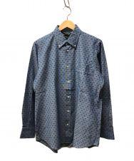 Fraizzoli (フライツォーリ) ボタンダウンシャツ インディゴ サイズ:M 未使用品