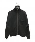LEMAIRE(ルメール)の古着「オーバーサイズスウェットジャケット」 ブラック