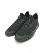 PRADA SPORTS(プラダスポーツ)の古着「テクノニットLRスニーカー」|ブラック