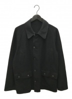 URU(ウル)の古着「カットオフデザインメルトンジャケット」|ブラック