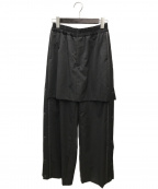 FACETASM()の古着「ジャージスカートパンツ」|グレー