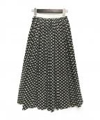 OBLI(オブリ)の古着「マーガレットスカート」 ブラック