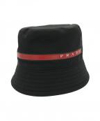 PRADA SPORTS(プラダスポーツ)の古着「テクニカルハット」|ブラック