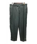 ()の古着「Patterned Dress Pant」|グリーン