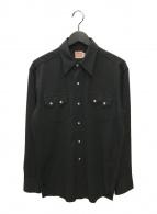 ()の古着「ヴィンテージウエスタンシャツ」 ブラック