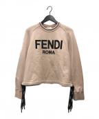 FENDI(フェンディ)の古着「ROMA スウェットシャツ」|ライトピンク