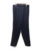 ()の古着「CHAOS EMBROIDERY TRACK PANTS」 ネイビー