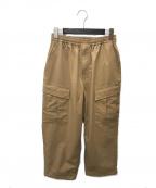 DAIWA PIER39(ダイワピア39)の古着「ルーズストレッチ6Pミリタリーパンツ」 ベージュ