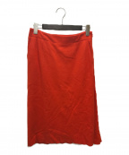 08sircus()の古着「ウールスカート」 オレンジ