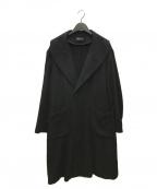 s'yte(サイト)の古着「ショールカラーウールコート」 ブラック