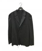 s'yte(サイト)の古着「カットオフデザインテーラードジャケット」 ブラック