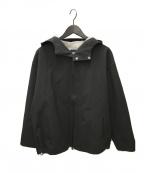 DESCENTE PAUSE(デサントポーズ)の古着「GORE-TEX WOOL BLOUSON」 ブラック